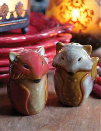 Reynard And Rowena Salt & Pepper Shakers