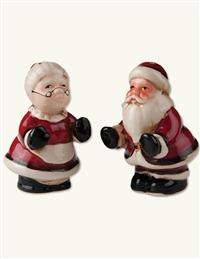 Mr. & Mrs. Claus Salt & Pepper Set