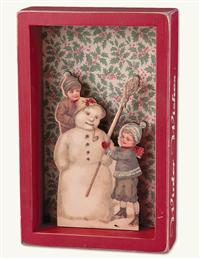 Winter Wishes Shadowbox Hanger