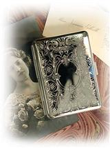 Silver Plated Calling Card Case