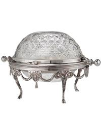 Opulent Glass Dish