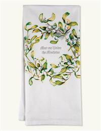 Meet Me Under The Mistletoe Towel