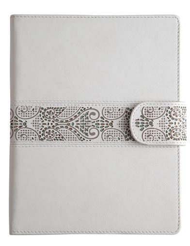 Lacy Leather Journal
