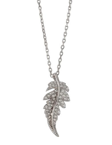 Sterling Feather Necklace