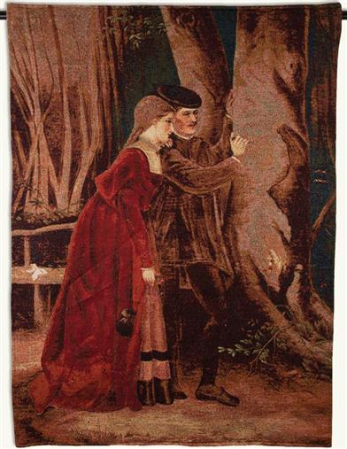 Young Lovers Tapestry