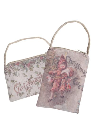 Victorian Christmas Gift Bags (Pair)