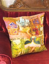 Ooh La La Parisian Pillow Cover