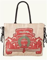 Christmas Coupe Tote
