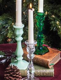 Richmond Candlestick (Jadeite)