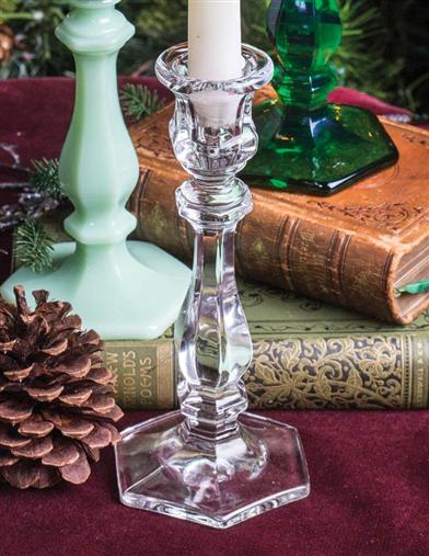 Richmond Candlestick (Clear Glass)