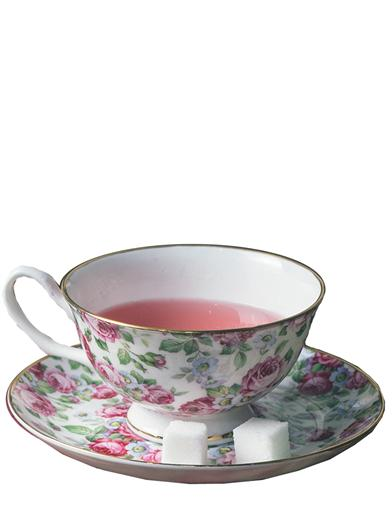 Dove Teacup & Saucer (Rosalind)