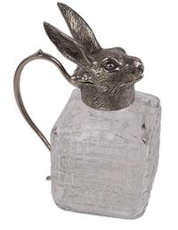 Rabbit Glass Pitcher
