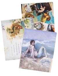 Mermaid Manila Folders (Set Of 6)