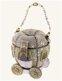 Mary Frances Cinderella's Carriage Handbag