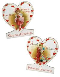 Valentine Greetings Easel