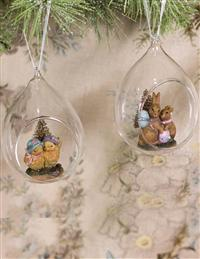 Scenic Easter Ornament Set