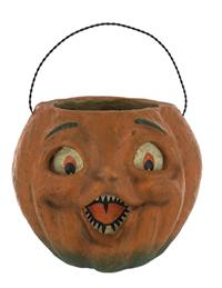 Retro Candy Bucket (Pumpkin)