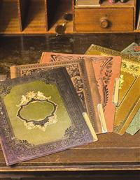 From A Dusty Bookshelf File Folders (Set Of 6)