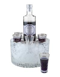 Dublin Cut Crystal Chilled Cordial Serving Set