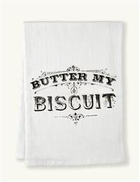 Coin Laundry's Butter My Biscuit Dish Towel