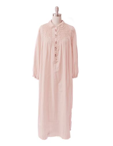 Vintage Inspired Nightgowns, Robes, Pajamas, Baby Dolls April Cornell Teresa Nightie $89.00 AT vintagedancer.com
