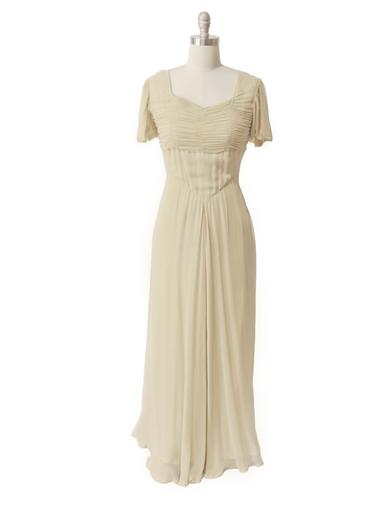 New 1920s Day Dresses & Tea Dresses April Cornell Antique Elegance Gown $129.95 AT vintagedancer.com