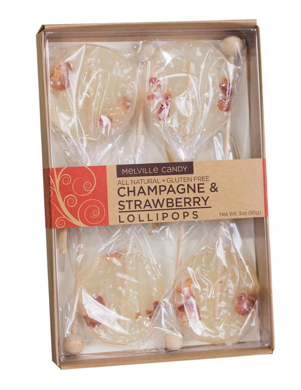 Gourmet gifts food gifts victorian trading co champagne strawberry lollipop set negle Gallery