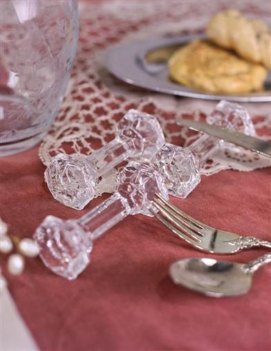 Crystal Knife Rests (Set Of 6)