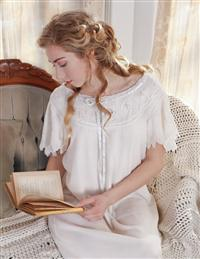 April Cornell Angel-sleeved Nightie