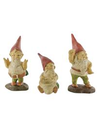 Woodland Gnomes (Set Of 3)
