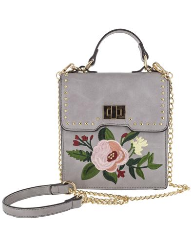 1950s Handbags, Purses, and Evening Bag Styles Dusty Blossom Handbag $49.95 AT vintagedancer.com