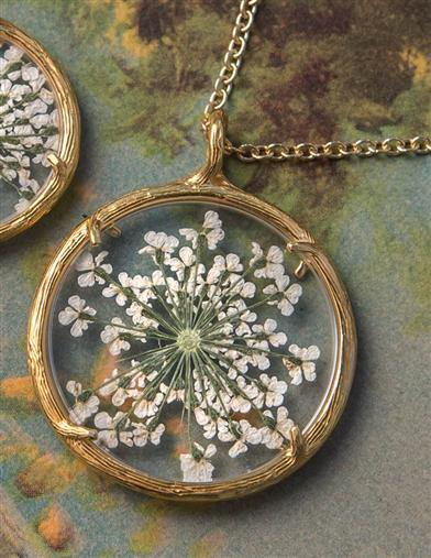 Queen Anne S Lace Necklace Large Catherine Weitzman Jewelry