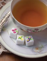 English Garden Sugar Cubes (Set Of 18)