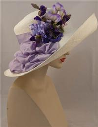 Louise Green Amethyst Garden Hat