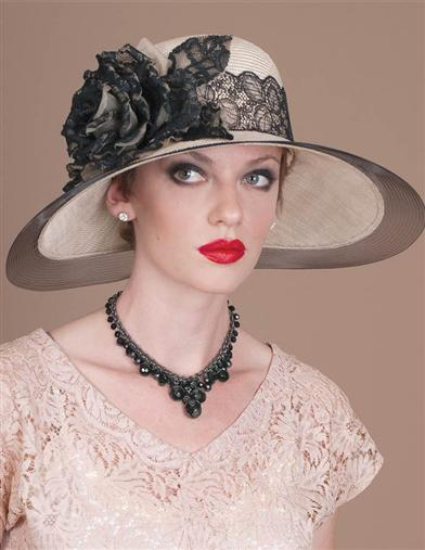 Louise Green Beaumont Brim Hat
