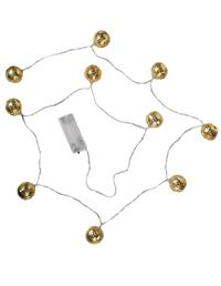 Resplendent Orb Light Garland Gold