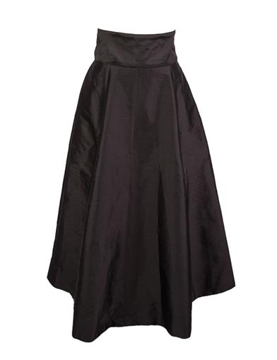 Black Taffeta Holiday Skirt