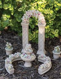 Porcelain Perfection Miniature Fairy Garden Set