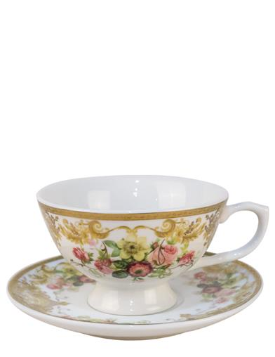 Toxic Teacup And Saucer - You Have Been Poisoned