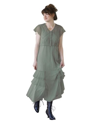 Easy DIY Edwardian Titanic Costumes 1910-1915 Delilah Dress Extra Extra Large $99.99 AT vintagedancer.com