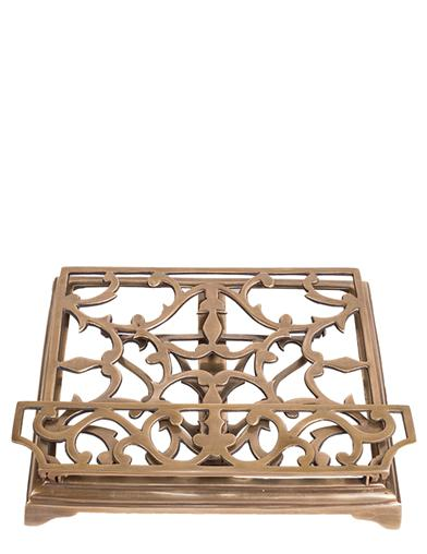 Regal Brass Book Stand