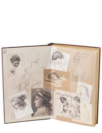 Antique Reproduction Sketch Book
