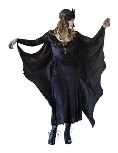 1940s Costume & Outfit Ideas – 16 Women's Looks Bat Wing Costume $24.95 AT vintagedancer.com
