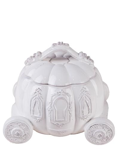 Cinderella's Carriage Pumpkin Cookie Jar