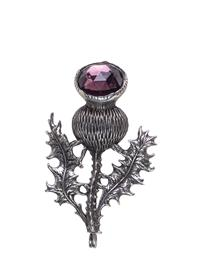 Thistle Burr Brooch