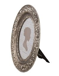Oval Silver Frame