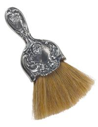 Silver Plated Boudoir Brush