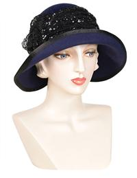 Louise Green Navy Hat