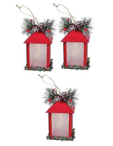 Lantern Ornaments (Set Of 3)