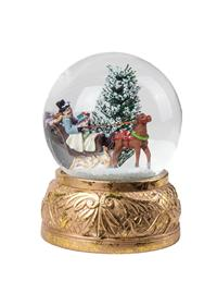 Sleigh Bell Ride Snow Globe
